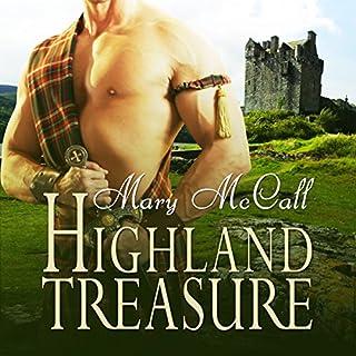 Highland Treasure audiobook cover art