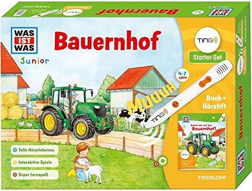 TING Starterset Bauernhof. Buch + Hörstift: Tolle Hörerlebnisse, Bilder und Texte zum Antippen, lustige Dialoge + Reime (TING - Spielen, Lernen, Wissen)