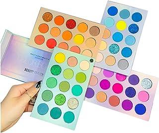 Beauty Glazed Color Board Eyeshadow Palette, Profession 60 Colors Makeup Palette Mattes Shimmers...