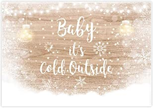 baby it's cold outside backdrop