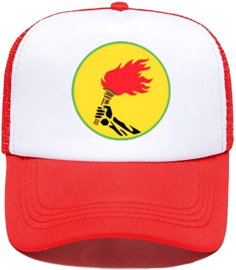 Zaire Flag Democratic Republicof The Congo Souvenir Funny Women Men Unisex Parent-Child Hats Mesh Visor Outdoor Sun Hat