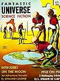 Wee Blue Coo Vintage cómic Cover Fantastic Universe Sci Fi...