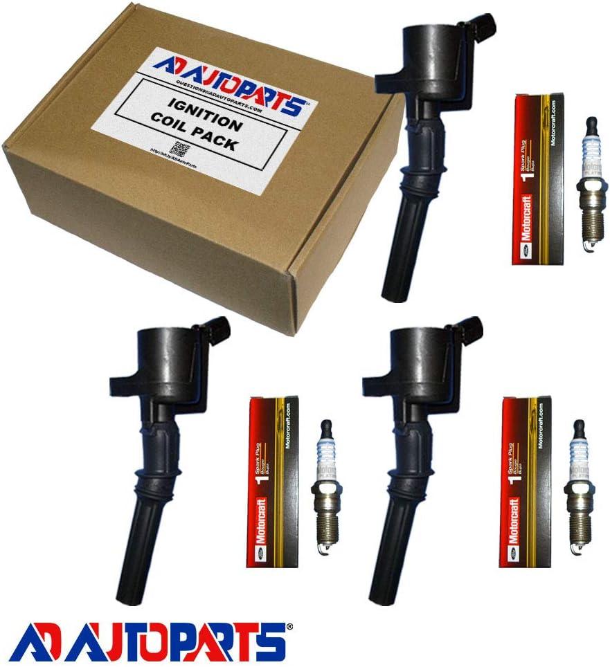 New OEM Platinum Spark Plug + Max 48% OFF S Sale Special Price AD Coil AutoParts DG508 Ignition