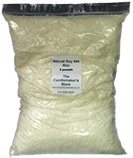 Natural Soy 444 Wax: 5 pound bag by Golden Brands