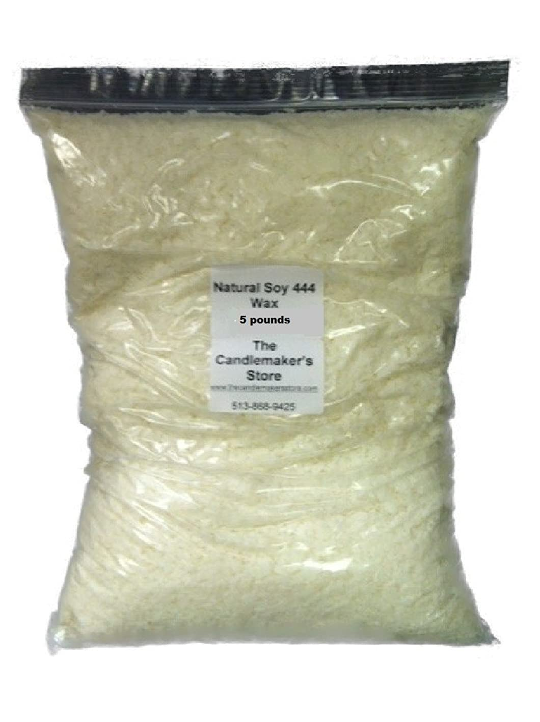 Natural Soy 444 Wax: 5 pound bag by Golden Brands j88746088272609