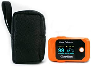 OXYSAT - Finger Tip Pulse Oximeter with SpO2, Perfusion Index and Pulse Rate readings, OLEDs Display and 18 months warranty