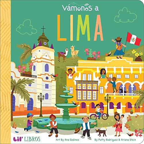 Vámonos: Lima (Lil' Libros) (English and Spanish Edition)