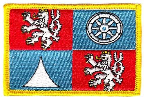 Flaggen Aufnäher Patch Tschechien - Reichenberg Fahne Flagge