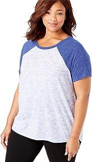 237e3c490e3 Amazon.com  Woman Within - Knits   Tees   Tops   Tees  Clothing ...