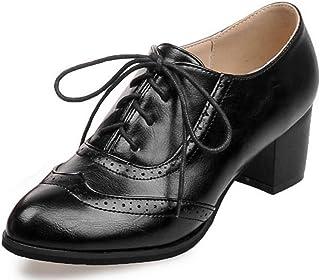 mejor precio mejor baratas la mejor actitud Amazon.es: Zapatos Oxford Mujer - Zapatos de tacón / Zapatos ...