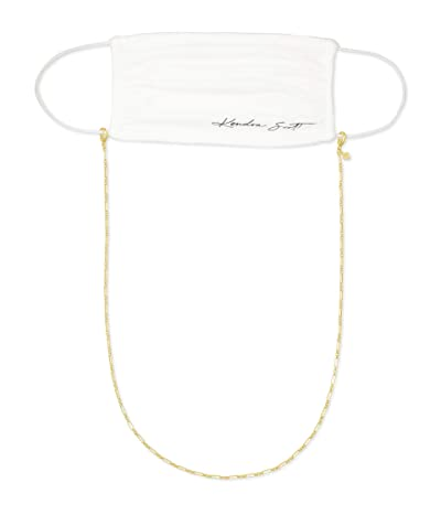 Kendra Scott Erin Mask Chain (Gold Metal) Necklace