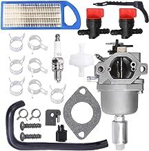 594593 Carburetor for Briggs & Stratton 591731 594593 697141 697190 698445 699937 791858 791888 796109 796078 590400 31H777 31L777 Carb 14.5-21HP Nikki 21B000 Engine with Air Pre Fuel Filter