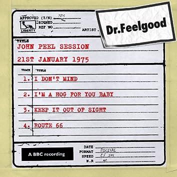 Dr Feelgood - BBC John Peel Session (21st January 1975)