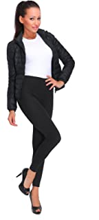 FUTURO FASHION Womens Thermal Leggings Fleece Lined Pants