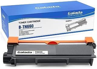 Galada Compatible Toner Cartridge Replacement for Brother Tn630 Tn660 for Hl-l2300d Hl-l2340dw Hl-l2305dw Hl-l2320d Hl-l2360dw Hl-l2380dw Dcp-l2520dw Dcp-l2540dw Mfc-l2700dw Mfc-l2720dw Mfc-l2740dw 1p