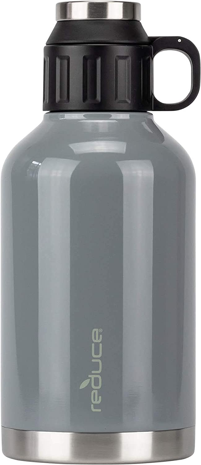 Safety and trust Reduce Insulated Growler 64 oz – Cold Topics on TV 12 H 48 Hours