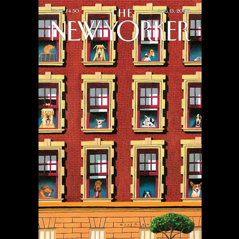 The New Yorker (August 13, 2007) audiobook cover art