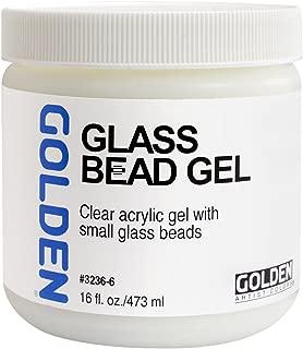 Golden Acryl Med 16 Oz Glass Bead Gel