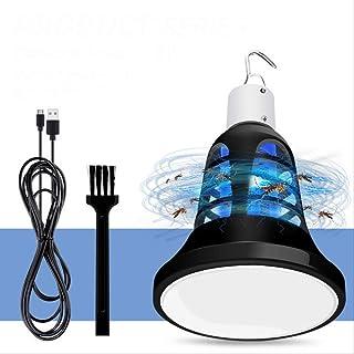 yqs Lámpara de Mosquito Mosquito Killer Lamp Outdoor Led USB Light Control De Plagas Bug Zapper Light 5v Electric Insect Trap Lamp