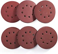5 Inch 8 Holes Sanding Discs - 60PCS 1000 1200 1500 2000 2500 3000 Grit Assorted Sandpaper by LotFancy, Hook and Loop Random Orbital Sander Round Sand Paper