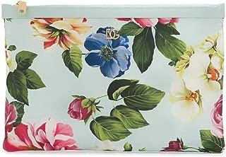 Luxury Fashion | Dolce E Gabbana Womens BI2261AX159HC1AM Light Blue Pouch | Spring Summer 20
