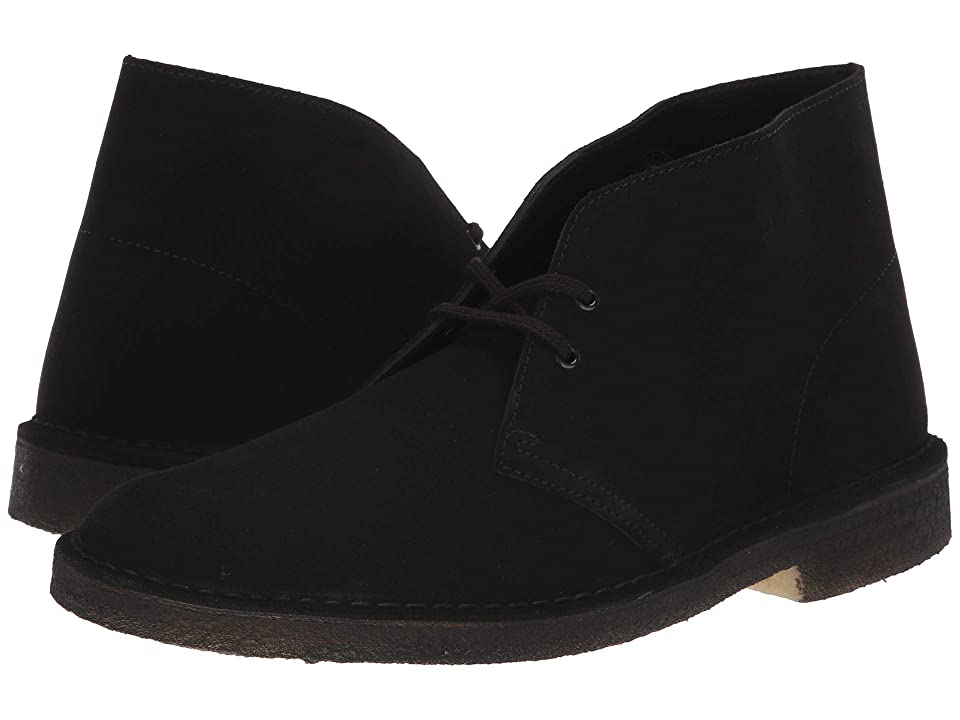 Clarks Desert Boot (Black Suede 2) Men