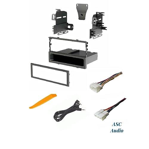Single Din Harness Radio Install Dash Kit: Amazon.com