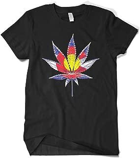 Men's Colorado Flag Pot Leaf T-Shirt