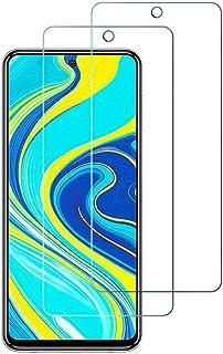 2枚 Xiaomi Redmi Note 9S/Note 9 Pro/POCO X3 NFC 9H硬度ガラスフィルム 元の画面タッチ/傷防止/指紋防止/グリース防止/ラウンドエッジデザイン/光透過率99.99%】互換性のあるモデル 【Redmi...