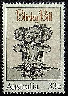 Blinky Bill Koala Bear Australia -Framed Postage Stamp Art 11669