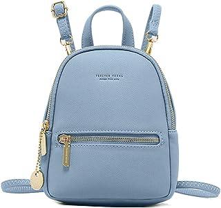 حقيبة ظهر Aeeque للنساء، حقيبة سفر للسيدات حقيبة كتف صغيرة جلدية يومية حقائب كاجوال، هدية للفتيات