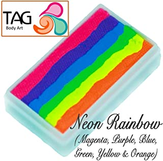 TAG Neon Rainbow 1 Stroke Split Cake 30g