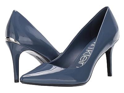 Calvin Klein Gayle Pump (Dark Steel Blue) High Heels