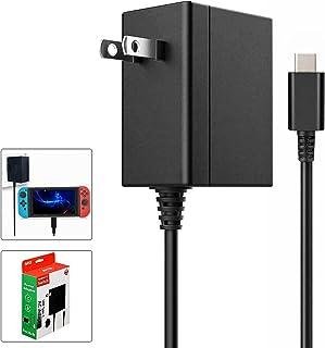 Switch ACアダプター Switch用充電器 PD規格 Type-Cコネクタ PSE認証済み N-Switch&Switch Lite本体/ スイッチドック/ Proコントローラー対応 急速充電