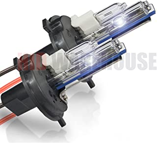 HID-Warehouse HID Xenon Replacement Bulbs - H4 / 9003 10000K - Dark Blue (1 Pair) - 2 Year Warranty