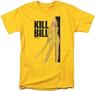 Kill Bill Yellow Suit Poster Adult T-Shirt Yellow