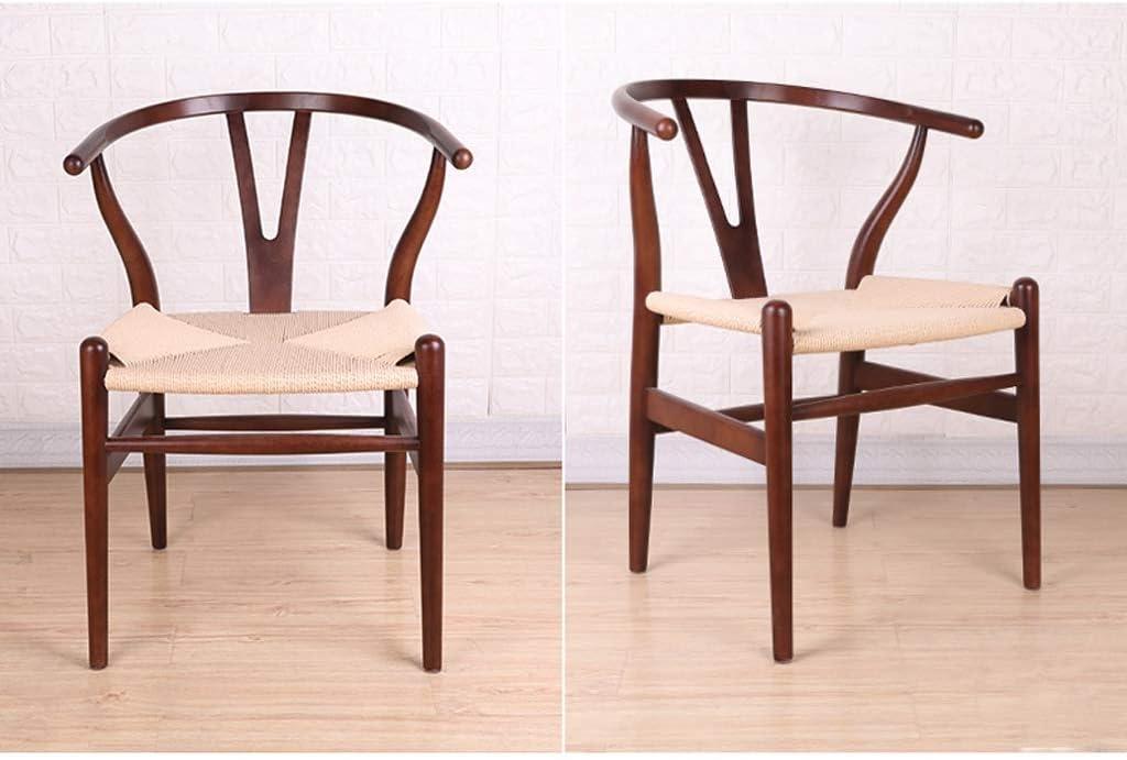 HXF- Chaise de salle à manger, chaise de bureau simple, dossier créatif, chaise de loisirs, chaise de salle à manger pour adulte durable (couleur : G) E