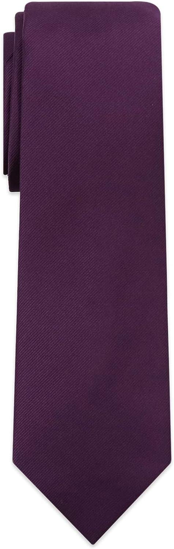 ESIR Max 68% OFF Solid Color Corded Men's tie Microfiber Jacquard Gorgeous ne woven -