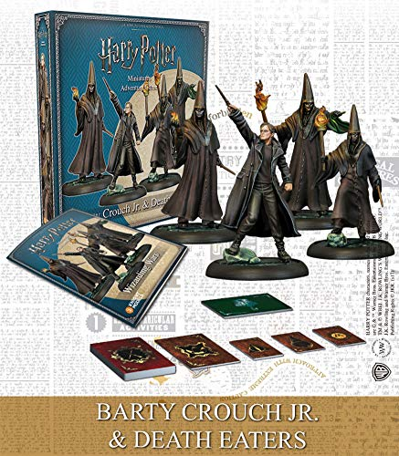 Knight Models Tabletop - Harry Potter Miniature Game Barty Crouch Jr & Death Eaters Expansion