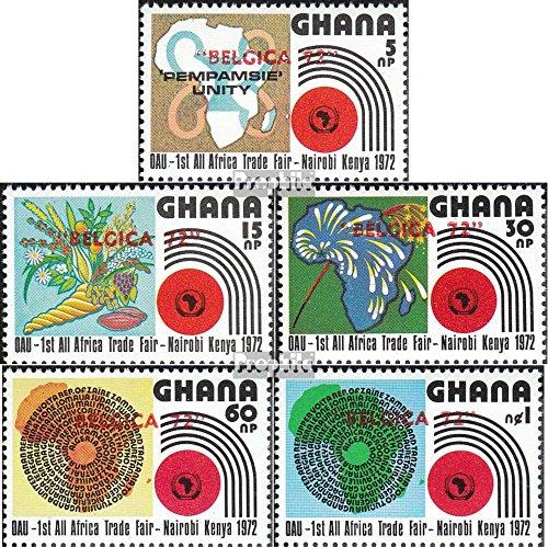 Prophila Collection Ghana 463A-467A (kompl.Ausg.) 1972 Philatelie (Briefmarken für Sammler) Pflanzen