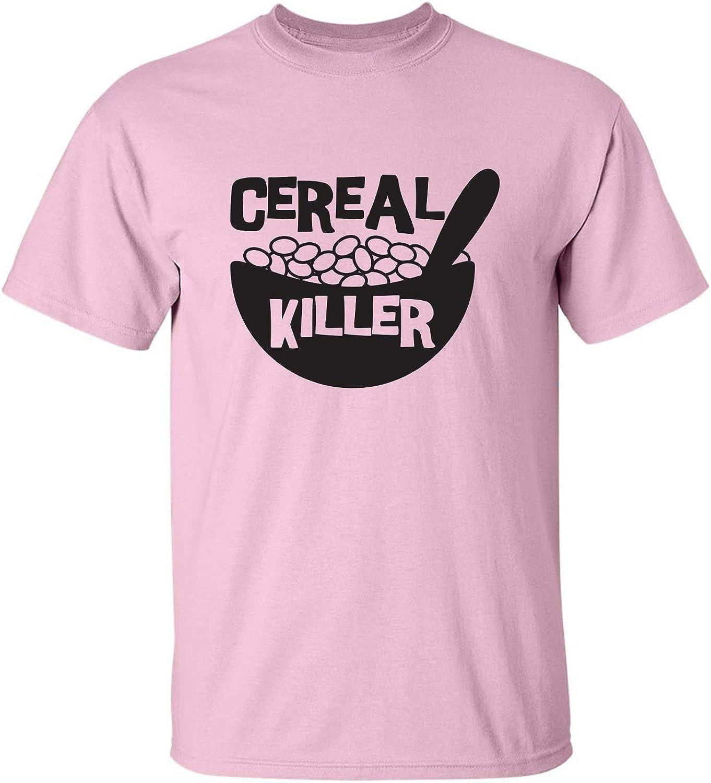 zerogravitee Cereal Killer Adult Short Sleeve T-Shirt