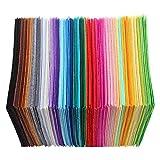 prosperveilUK Filz Stoff,Farben Filzstoff 40 Farben