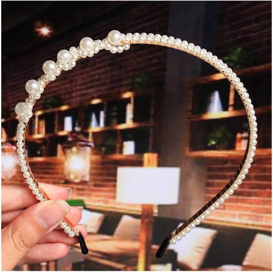 YSJJSQZ Hair Band Hair Accessories Elegant Women Headband Wedding Party Bridal Hair Hoop Headdress (Color : 2)