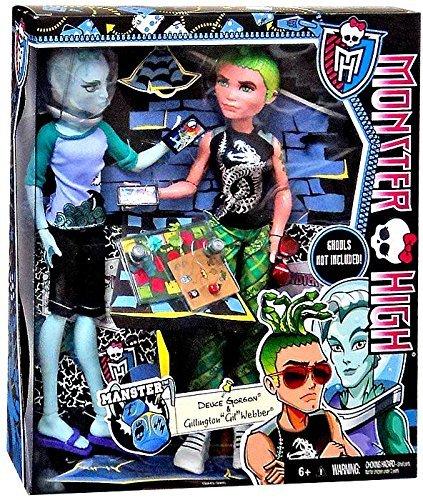 Monster High Monster High MANSTER 2-Pack - Deuce Gorgon & Gillington Gil Webber Doll doll doll [parallel import]