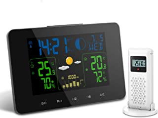 auto indoor outdoor thermometer wireless