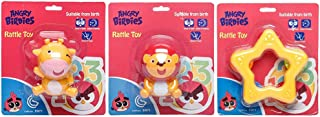 Angry Birds-Rattle Toy Cow,Lion,Star (Pack of 3)