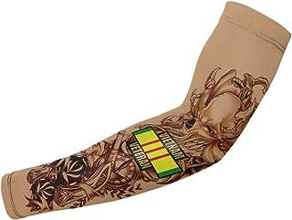 American Pride Vietnam Veteran Temporary Tattoo Sleeves Compression Arm Sleeve
