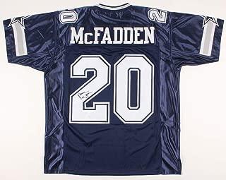 Darren McFadden #20 Signed Jersey (JSA COA) Dallas Cowboys