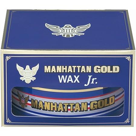 シュアラスター(SurLuster) カーワックス マンハッタンゴールドワックス ジュニア ノーコンパウンド 全塗装色対応 最上級カルナバ蝋配合 100g M-03