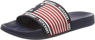 Superdry Women's American Spirit Pool Slide Flip Flops, Blue (Navy 11s)